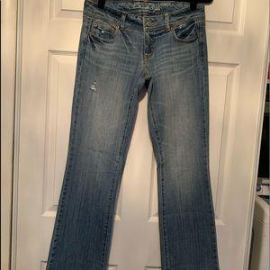 Woman's American eagle slim Bootcut Jeans